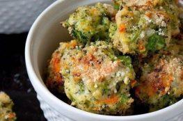 Сырно-овощные шарики