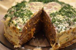 Печёночный пирог