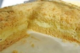 Творожный пирог «Бархан»