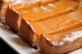 Ароматный пирог из тыквы