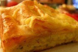 Сырный лаваш, запечённый в духовке