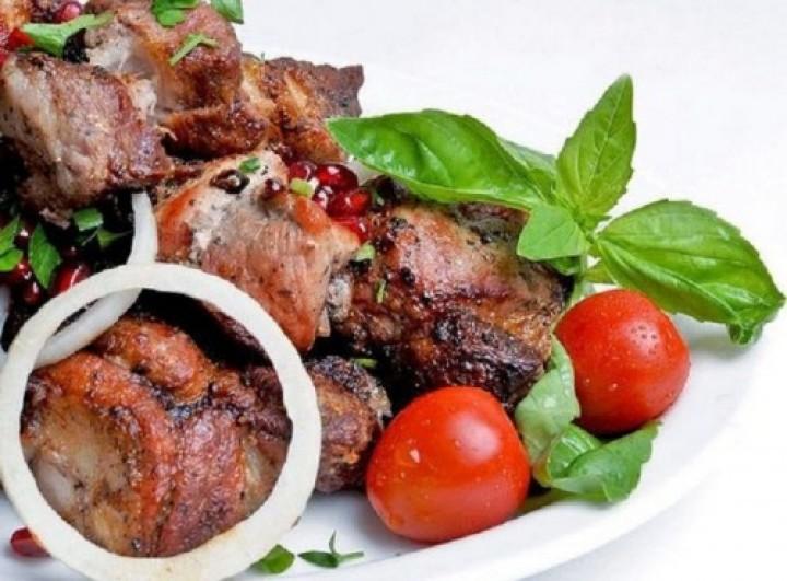 Узбекский шашлык из баранины