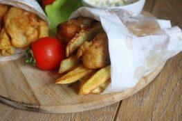 Рыба и хрустящие чипсы