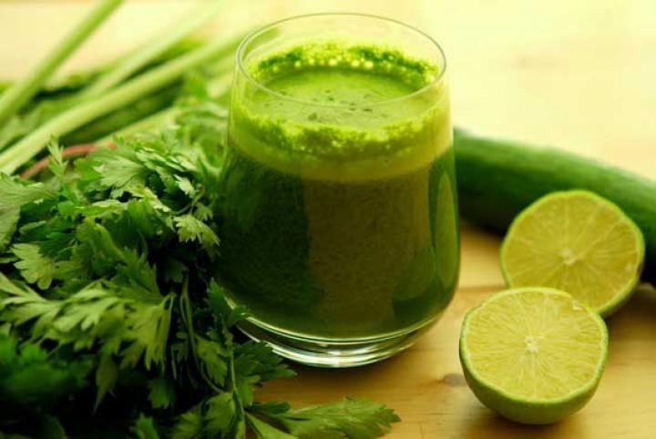 Вкусные и полезные «Зелёные коктейли»