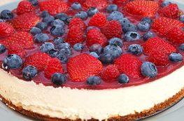 Малиновый пирог с лаймом