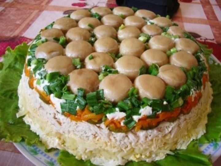 """Salad """"Mushroom Meadow"""""""