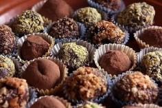 Buckwheat truffles