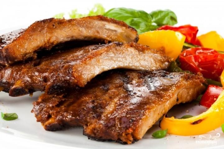 "Pork ribs ""BBQ"""